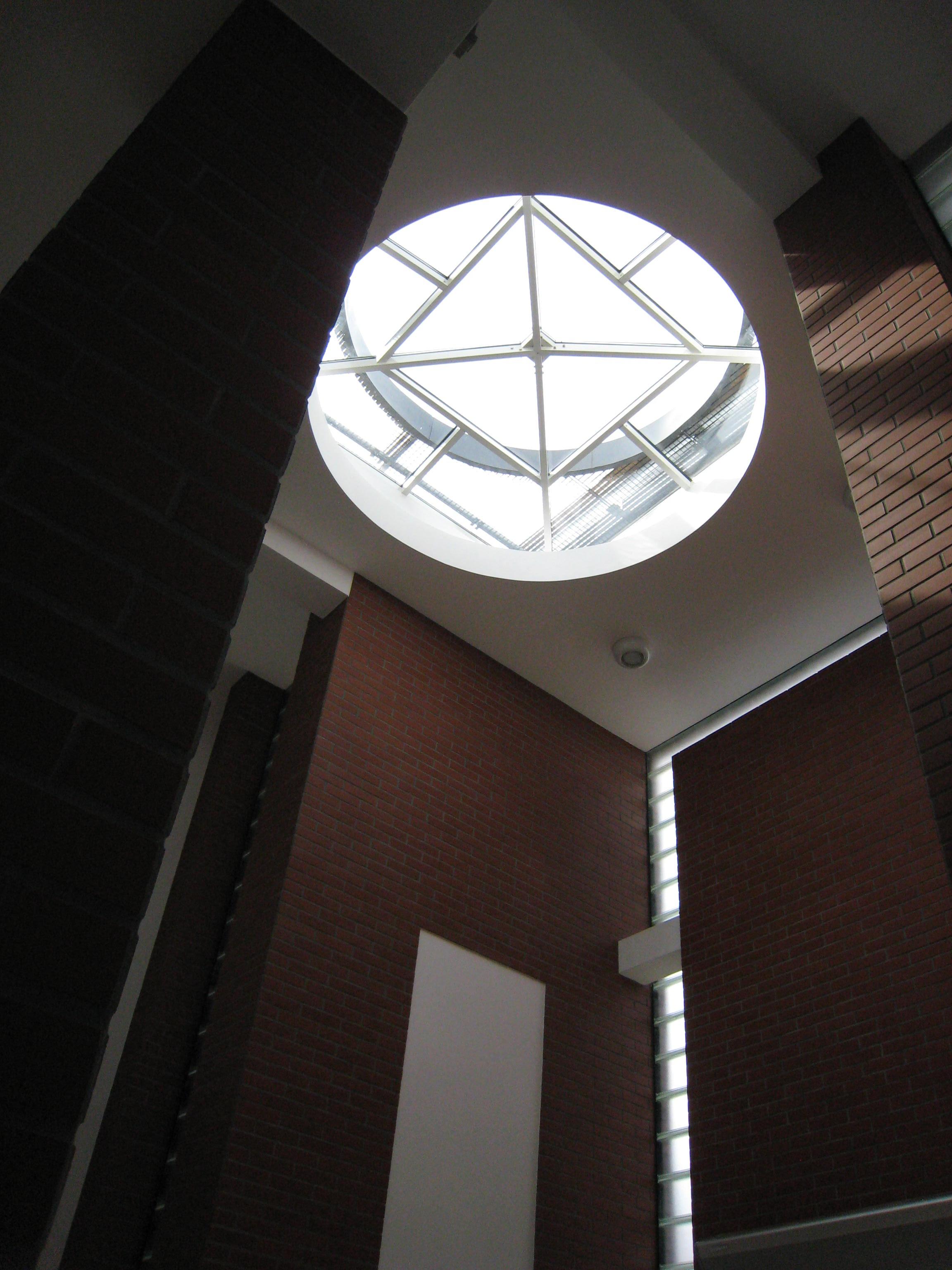 Budynek biurowy z częścią magazynową Kadefarm Tarnowo Podgórne Korytarz Hol