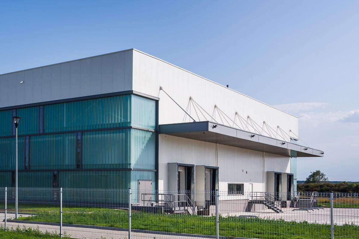 Budynek produkcyjny dań gotowych wraz z częścią magazynową oraz administracyjną Mróz S.A. Borek Wielkopolski