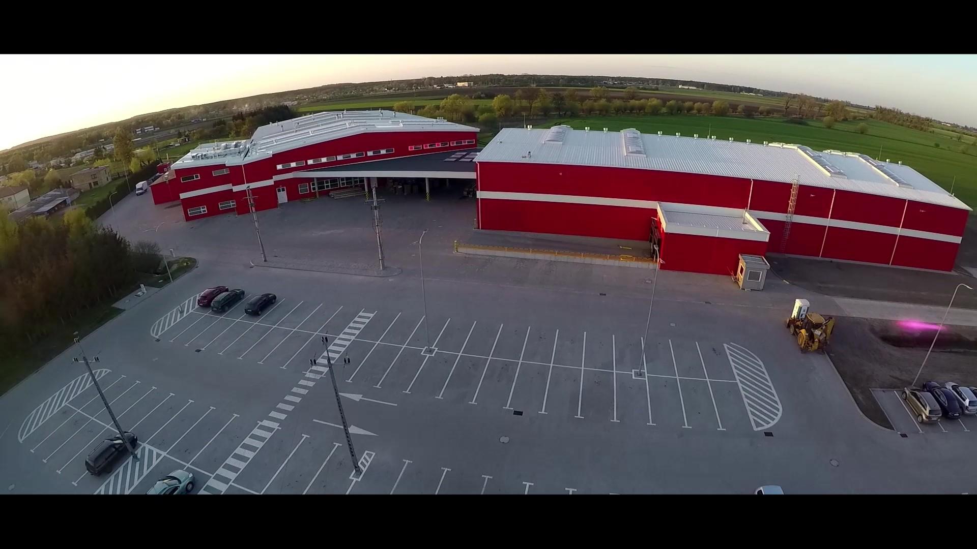 Budynek produkcyjny felg rowerowych z częścią socjalną oraz magazynem wysokiego składowania DT Swiss Polska Sp. z o.o. Oborniki
