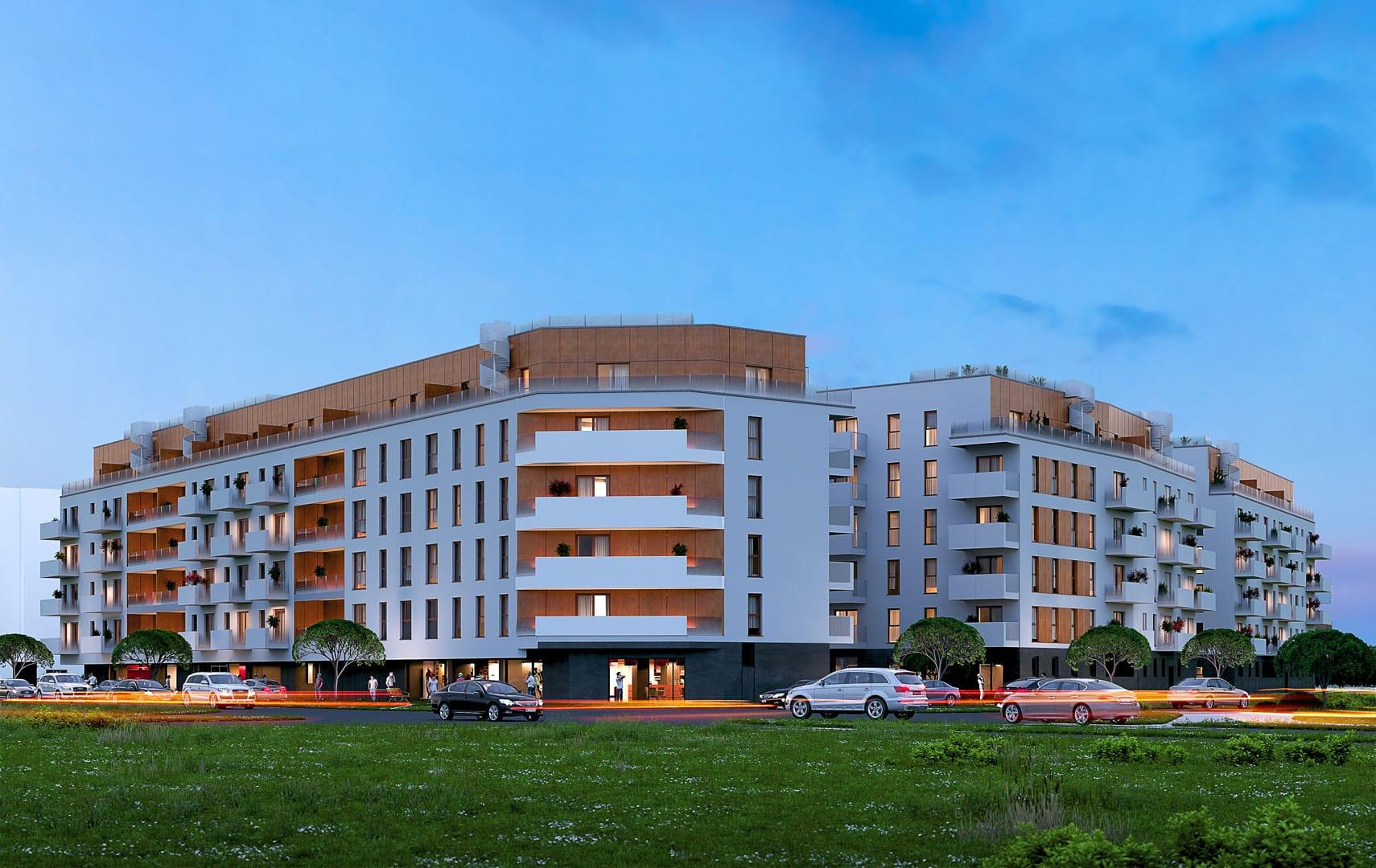 Soleil de Malta Budynek mieszkalny wielorodzinny Bouygues Immobilier Polska Poznań