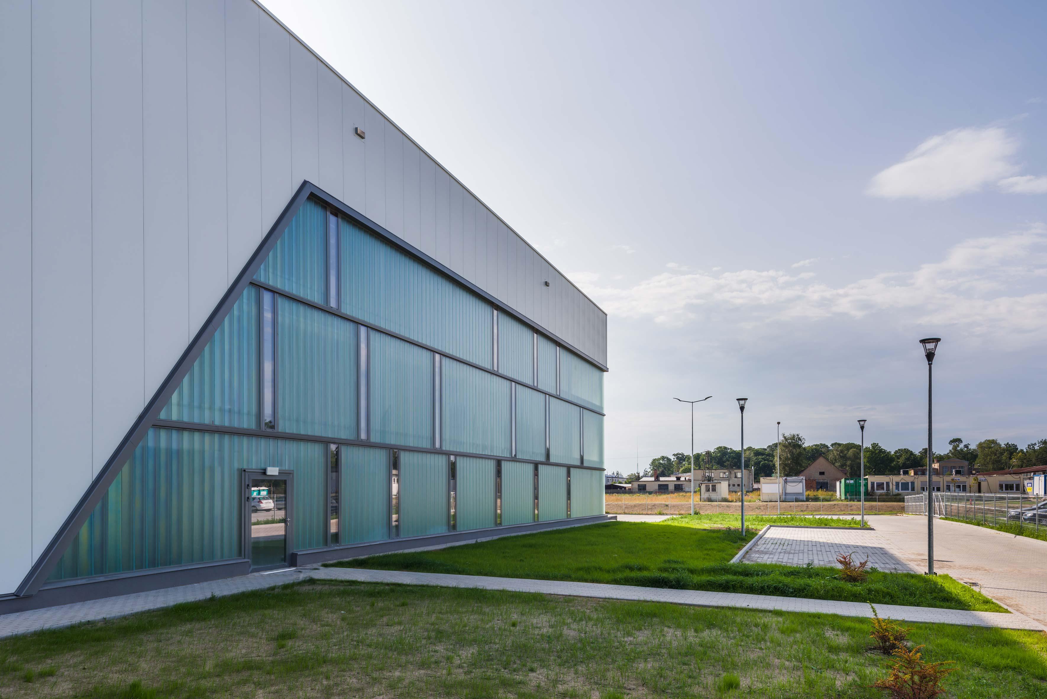 Budynek produkcyjny dań gotowych wraz z częścią magazynową oraz administracyjną Mróz Borek Wielkopolski